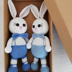 Amigurumi İle Tavşan Minty - Emekce.com Amigurumi Crochet Teddy, Crochet Baby, Toys For Boys, Kids Toys, Bright Paint Colors, Diy Plaster, Apple Gifts, Lotus Art, Handmade Wooden Toys