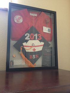 Nursing school shadow box... LOVE!