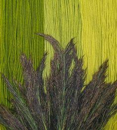 Schilfblütenfärbung 1.2.3. Zug Patchwork Fabric, Fabric Yarn, How To Dye Fabric, Textile Dyeing, Textile Art, Natural Dye Fabric, Natural Dyeing, Hand Dyed Yarn, Yarn Colors