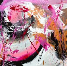 Pink Planet - Oil Canvas - 110 x - Ready to hang - Milan Direct Beautiful Artwork, Planets, Abstract Art, Canvas, Artist, Milan, Pink, Swag, Painting