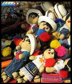 Guatemalan Dolls.