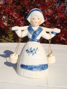 Vintage Dutch Girl dinner bell - we had one of these in my growing up years!