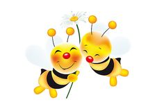 cute pictures of bees   schtroumpf2510 › Portfolio › two cute bees in love