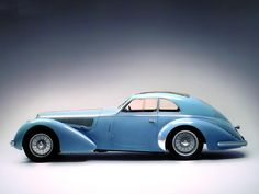 1938 Alfa Romeo 8C 2900B.