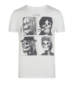 Let it Rot Band Crew T-shirt, Homme, T-Shirts, AllSaints Spitalfields