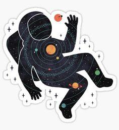 Inner Space Sticker