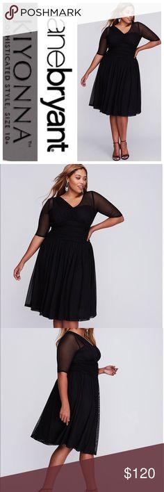 735a0ca66506 Modern Mesh Black Dress by Kiyonna Lane Bryant Sooooooo cute! Every woman  needs a