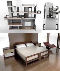 Modern Miniature Dollhouse