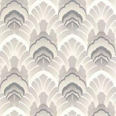Original White & Silver Wallpaper