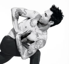 """Interview: Adam Levine Yoga has given me the ability to be more focused and make better decisions that come from a clear place. … It's made me more successful. I love it and don't know what I'd do without it."""""""