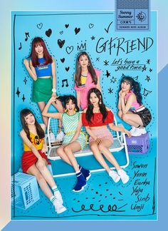 G-Friend is sweeter than ice cream in more 'Sunny Summer' teaser images Kpop Girl Groups, Korean Girl Groups, Kpop Girls, Extended Play, K Pop, Gfriend Album, Summer Songs, Summer Playlist, Photoshoot Images