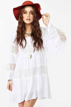 Faithful Dress - White