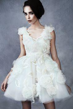 krótka suknia ślubna, wedding dresses Sylwia Romaniuk design