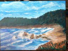 https://flic.kr/p/SdCNHi   Desolate Beach   12x16Acrylic painting.