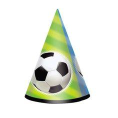 Czapeczki urodzinowe- idealne na przyjęciu każdego fana piłki nożnej