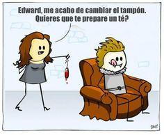 Inappropriate memes from the Twilight saga; Funny Cartoons, Funny Comics, Funny Jokes, It's Funny, Funny Twilight, Twilight Saga, Twilight Edward, Inappropriate Memes, Twilight Pictures
