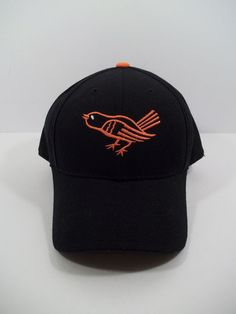 MLB Baltimore Orioles Vintage Fitted Hat Cap Size 7 3/4 by American Needle #AmericanNeedle #Vintage #BaltimoreOrioles