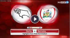 Derby County 2-1 Barnsley Full Time Highlights and Goals - Sky Bet Championship - 4 March 2017. Watch extended video highlights of EFL Championship ma...