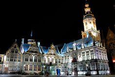 Town Hall of Veurne, province of West-Vlaanderen, Belgium