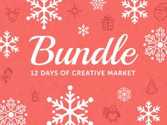 Pick up Creative Market's 12 Days of Creative Market. Fonts, Templates, Graphics and More. A $1,437 value... Only $39!