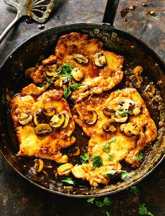 Chicken with Marsala