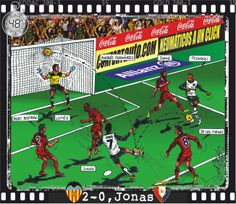 Valencia CF, 3 - CA Osasuna, 0 - Jonas Gonçalves, 2-0, min.48