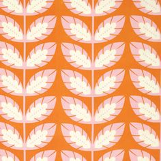 Clementine PWHB056 Tangerine Sprout by Heather Bailey for Free Spirit