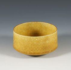 Lucie Rie.  porcelain bowl. circa 1960.