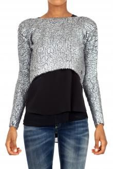 IMPERFECT - MAGLIA - 240151 - ARGENTO http://www.commetoi.it/eshop/index.php?id_lang=8