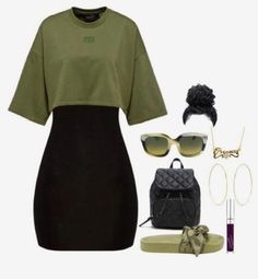 Want these teen fashion outfits Diese junge Mode will Kleider Swag Outfits For Girls, Cute Swag Outfits, Teen Fashion Outfits, Teenager Outfits, Girly Outfits, Look Fashion, Casual Teen Fashion, Girl Fashion, Fashion Black
