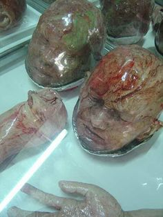 Bizarre Bakery in Thailand that makes body shapped breads