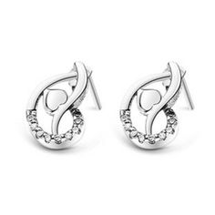 Find More Stud Earrings Information about Fashion Heart Brincos White Crystal Bijoux  for Women Vintage Simulated Gemstone Jewelry Silver Plated Earrings Ulove R129,High Quality bijoux hair,China bijoux gold Suppliers, Cheap bijou jewellery from ULOVE Fashion Jewelry on Aliexpress.com