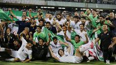 Irán clasifica a Copa Mundial de Fútbol Rusia 2018. Visite nuestra página y sea parte de nuestra conversación: http://www.namnewsnetwork.org/v3/spanish/index.php  #nnn #bernama #malasia #malaysia #futbol #iran #rusia #copamundial #moscu #deportes #sports #news #noticias #ultimasnoticias #soccer #russia
