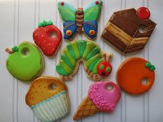 Very Hungry Caterpillar :D - Cookie Couture by Sarah
