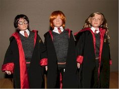 Tonner-Harry-Ron-Hermione-Harry Potter Collection-Early Years