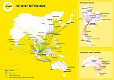 Route Map - Low Fares to Multi Destination Flights | FlyScoot.com!