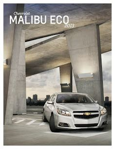 2013 #ChevroletMalibu #Brochure from #PerryAutoGroup http://toopixel.ch