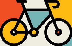 61 Ideas For Bike Design Bicycles Illustrations Logo Velo, Bike Logo, Bicycle Art, Bicycle Design, Mtb Bicycle, Velo Biking, Bicycle Illustration, Bike Poster, Shape Art