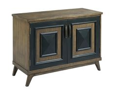 Mid century modern cabinet from the Hidden Treasures collection by Hammary. New for #hpmkt Spring 2015.