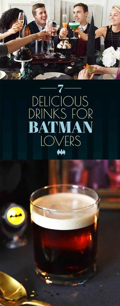 7 Delicious Cocktails To Serve Anyone Who Loves Batman @gpharaoh12 Thanks for sharing!