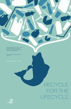 Recycle for the Lifecycle by Jordan Key, via Behance