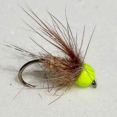 Simple and effective nymph that has worked well for trout...#flyfishing #flytying #flyfishingjunkie #trout #river  #insects #bugs #nymphs