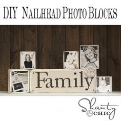 Photo blocks...Christmas idea for the parents