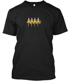 Halloween For Dancers Funny  T Shirt Black T-Shirt Front