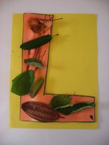 """Letter of the week activities and crafts.  Letter """"L"""""""