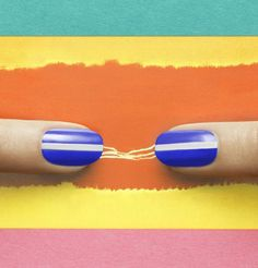 Cool Lines by JINsoon | Sephora Beauty Board #Sephora #nailart