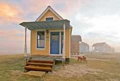 These tiny homes are built entirely from salvaged materials. This is perfect! :D