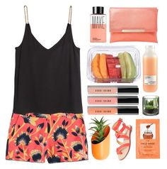 """""""Waiting for you 🍊🍑🍈"""" by seriouskatya ❤ liked on Polyvore featuring J.Crew, Wallter, Davines, Dune, Make, Bobbi Brown Cosmetics, H&M and Splendid"""