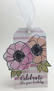 Homemade Cards by Erin: Happy Valentine's Day and tag