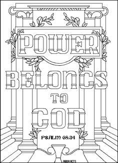1 Corinthians 3:11 ABDA ACTS Arts and Publishing coloring